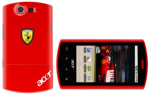 Acer Ferrari Liquid E Smartphone