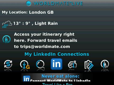 WorldMate Live