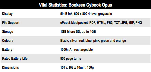 Bookeen Cybook Opus