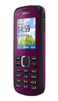 Nokia C1-02 phone