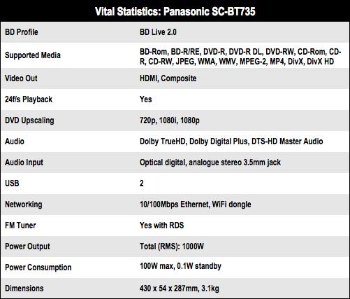 Panasonic SC-BT735