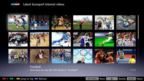Sony Bravia Eurosport