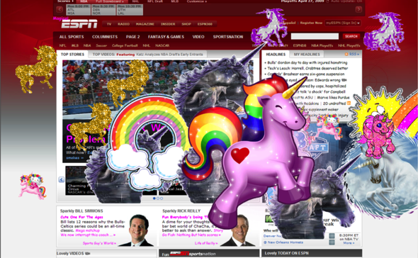 ESPN unicorns