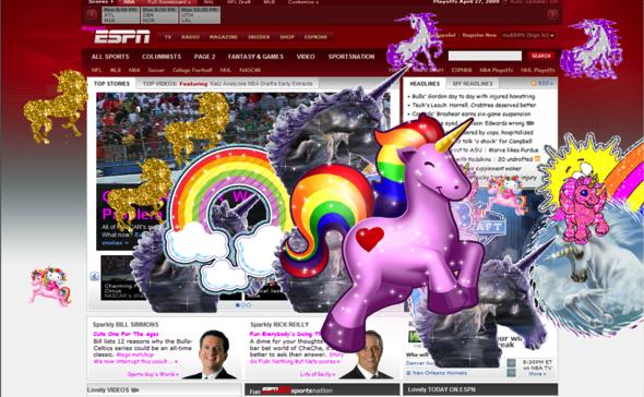 ESPN unicorns