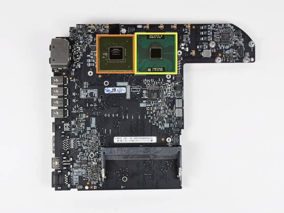 New Mac mini logic board