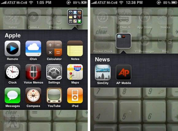 iOS 4 multitasking interface