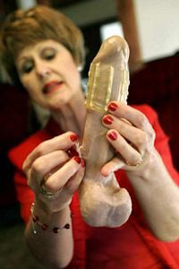 Dr Sonnet Ehlers and the Rape-aXe condom