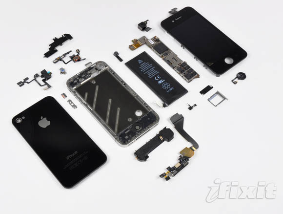 iPhone 4 all components
