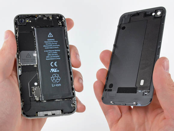 Inside the iPhone 4