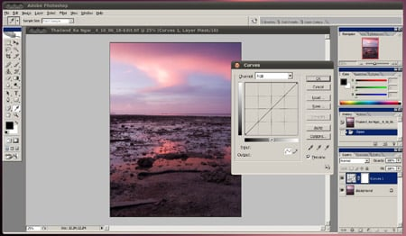 Photoshop in Wine 2.1
