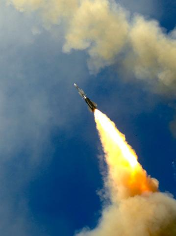 Aster missiles being fired in trials. Credit: MBDA
