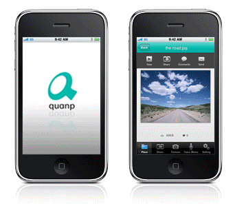 Quanp for iPhone