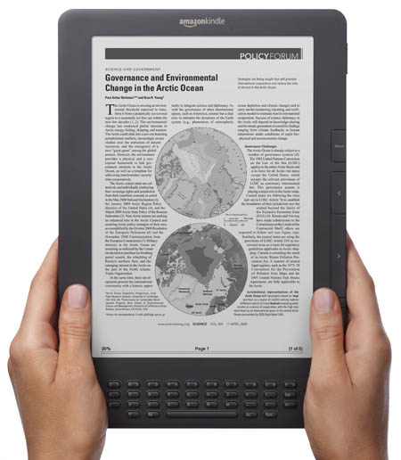The Kindle DX Graphite