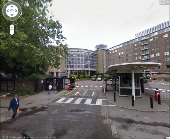 BBC Television Centre on Street View