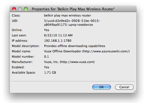 Belkin Play Max Wireless Modem Router