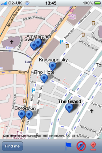 Mobile Streetmaps