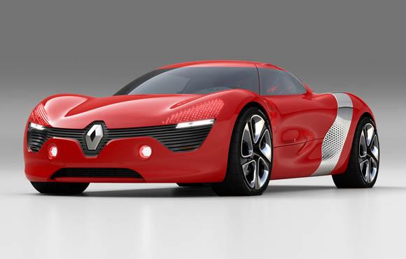 Renault DeZir concept car
