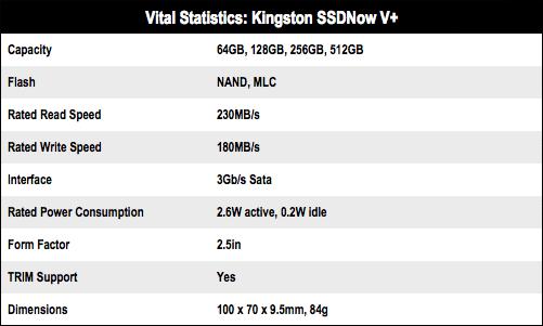 Kingston SSDNow V+ 512GB