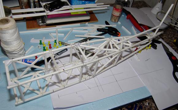 Adding reinforcing struts