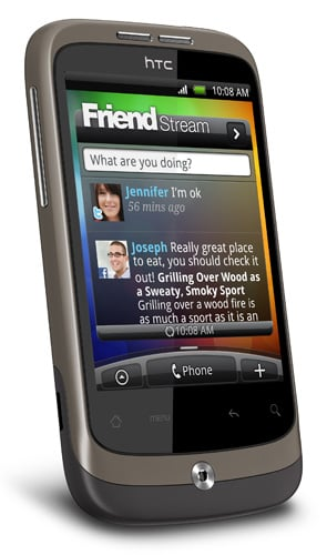 Well, the HTC Wildfire isn't the first budget Android blower,