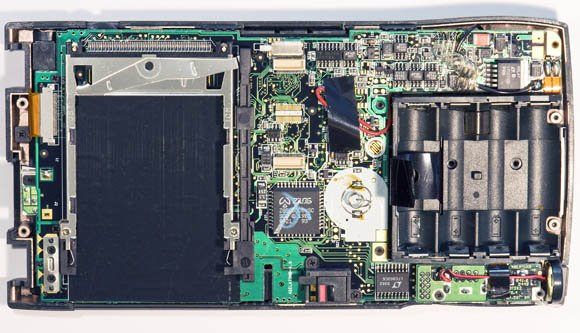 Newton MessagePad 120 - inside