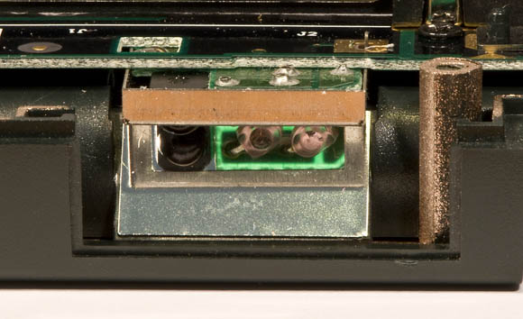 Newton MessagePad 120 - IR port (inside)