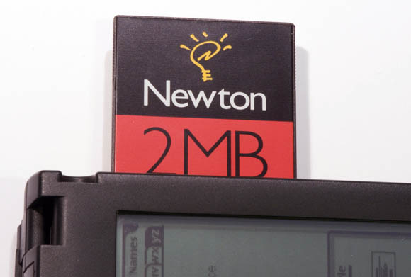 Newton MessagePad 120 - PCMCIA card