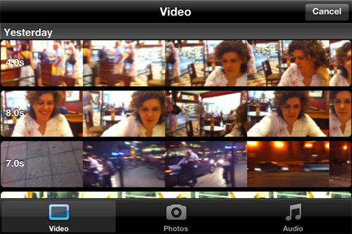Apple iMovie for iPhone 4