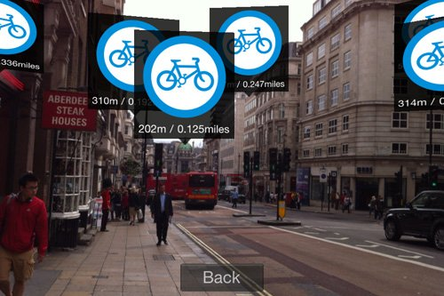 London Tube App - Augmented Reality
