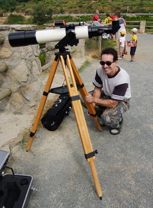 Alejandro and his mighty 'scope
