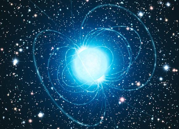 Concept pic of a magnetar. Credit: ESO