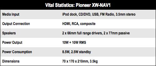 Pioneer XW-NAV1