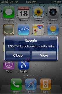 Google Mobile Screen Shot