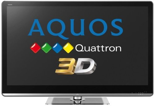 Sharp Quattron 3D TV