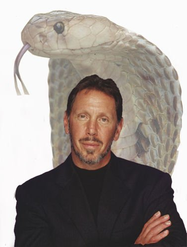 Larry Ellison and Cobra
