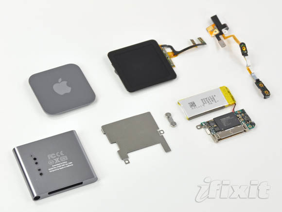 iFixit teardown of sixth-generation iPod nano