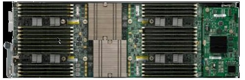 Inside View of the Cisco B230-M1