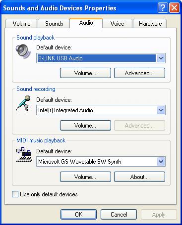 Keene USB FM Transmitter