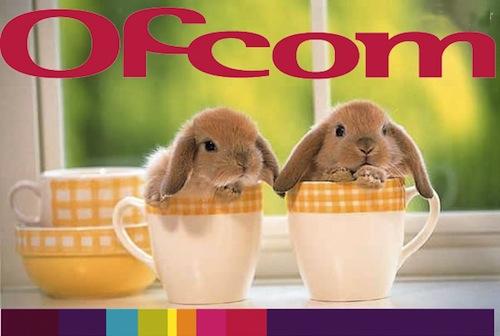 Ofcom bunnies