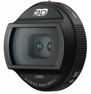 Panasonic H-FT012E G-Series 3D lens