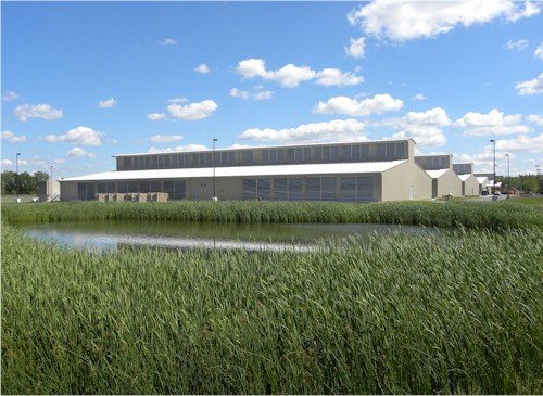 Yahoo Lockport Data Center Wide View