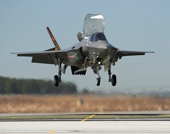 F-35B in flight test. Credit: Lockheed Martin