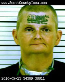 Police mugshot of David Winkelman