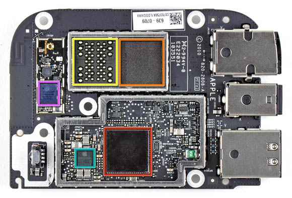 Apple TV, logic board