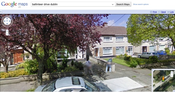 Dublin welcomes Google Street View with mooning