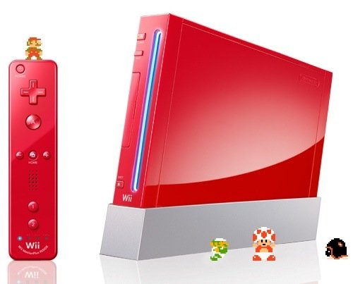 Nintendo Wii red