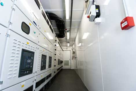 Merlin Data Center Power Room