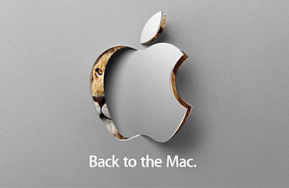Apple invitation to October 20 'Back to the Mac' media event