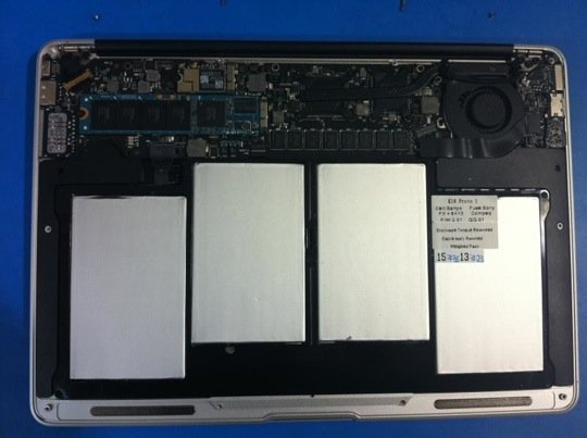 Inside Apple's new MacBook Air