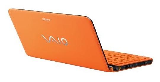 Orange Sony Vaio P